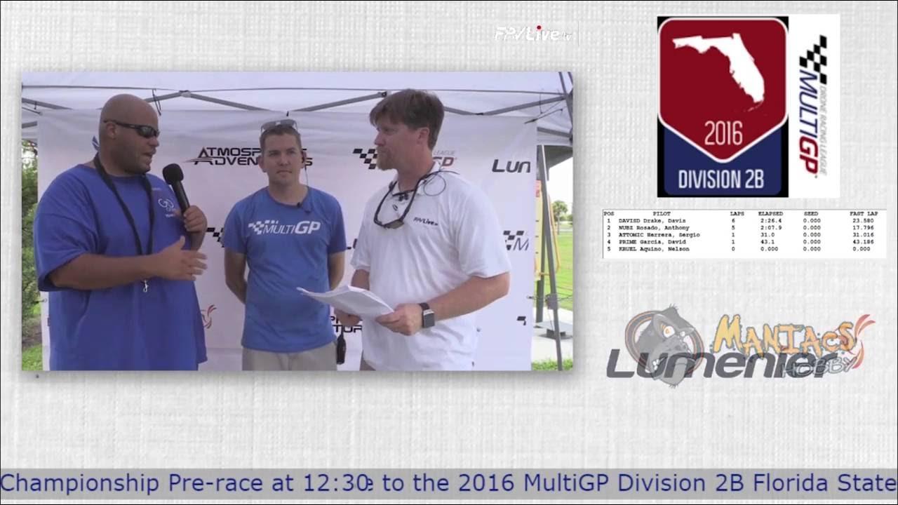 MultiGP 2B Finals Pre-Race Show