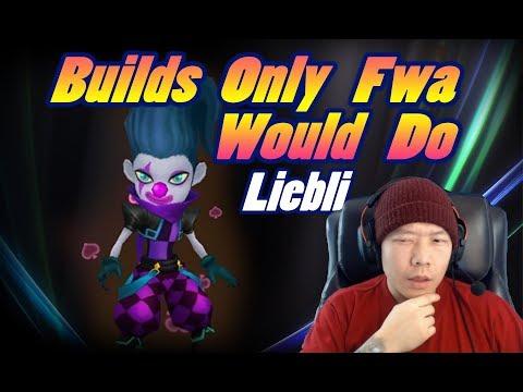 SUMMONERS WAR - Builds ONLY Fwa would Do - Liebli (Dark Joker)