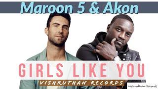 Maroon 5Akon Girls Like You Ft Cardi B
