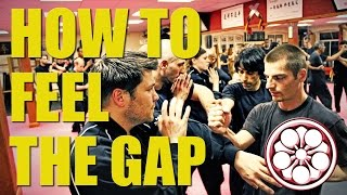 Wing Chun Techniques | How to Feel the Gap to Punch