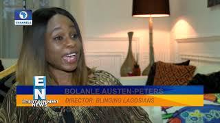 Bolanle Austen-Peters On Set Of New Film, BLING LAGOSIANS | EN |
