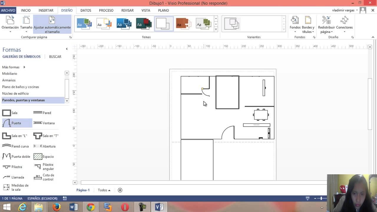 visio planos de mi casa youtube