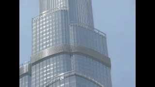 Burj Khalifa View fro Dubai Mall Parking Lot
