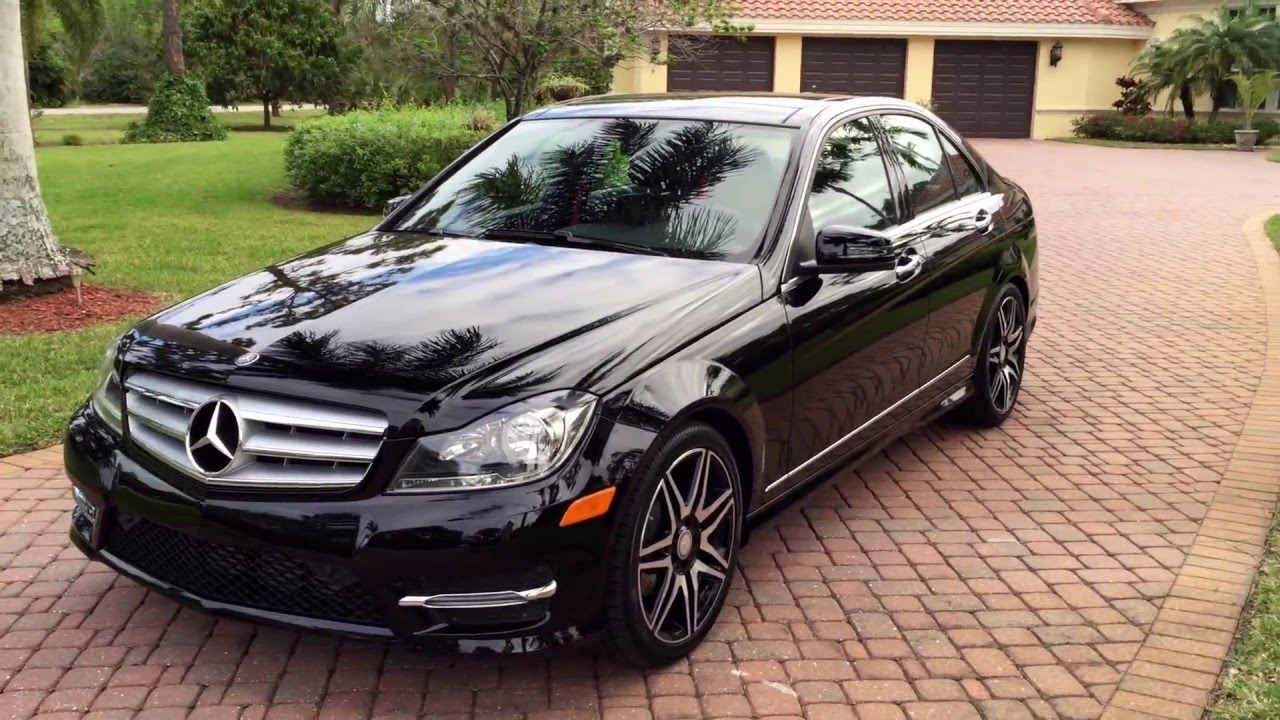 sold 2013 mercedes benz c250 amg sport for sale by
