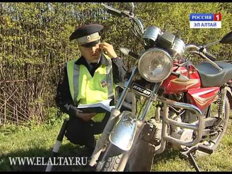 Сотрудники ГИБДД провели моторейд