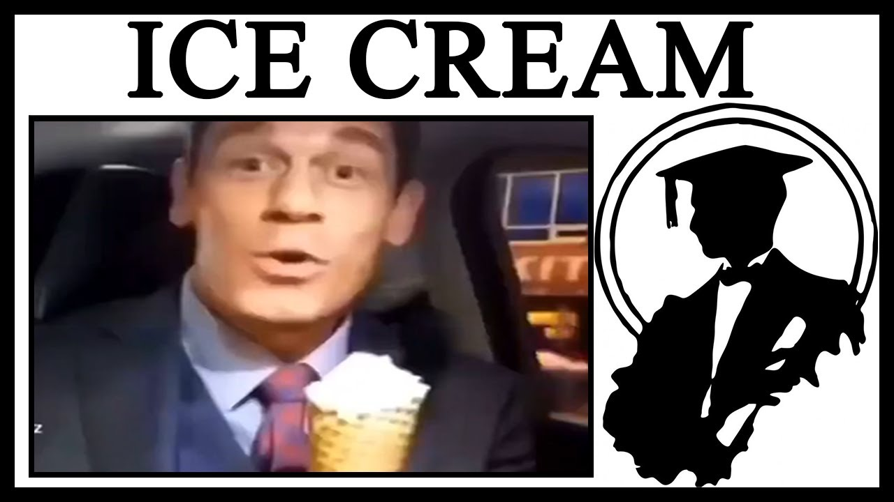 Why Is John Cena Speaking Chinese And Eating Ice Cream?