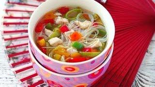Густой овощной суп по китайский