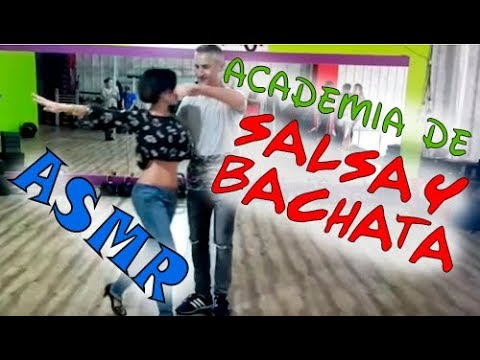 Asmr- BAILE SALSA Y BACHATA- dancing/Susurros + asmr visual/ ASMR ESPAÑOL- SPANISH