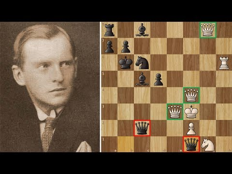 Alexander Alekhine and 5 Queens - The Harem