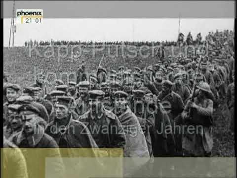 Die Zwanziger Jahre: Kapp-Putsch, Arbeiterkämpfe und kommunistische Aufstände