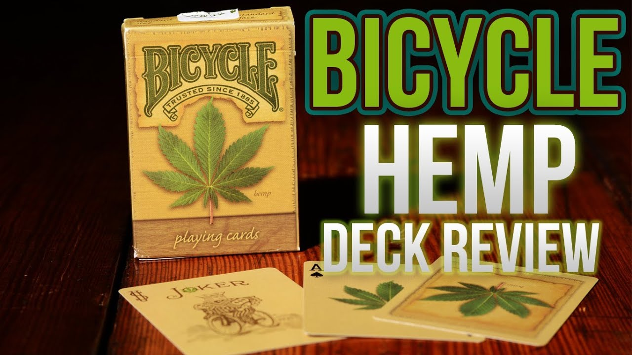 Deck Review Bicycle Hemp Deck Of Playing Cards Youtube
