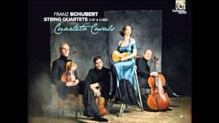 Franz Schubert - String Quartet n. 15 - I Allegro molto moderato (Cuarteto Casals)