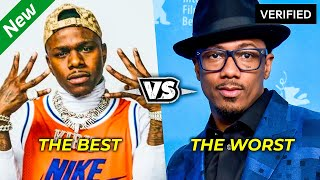 BEST vs. WORST RAPPERS of the DECADE