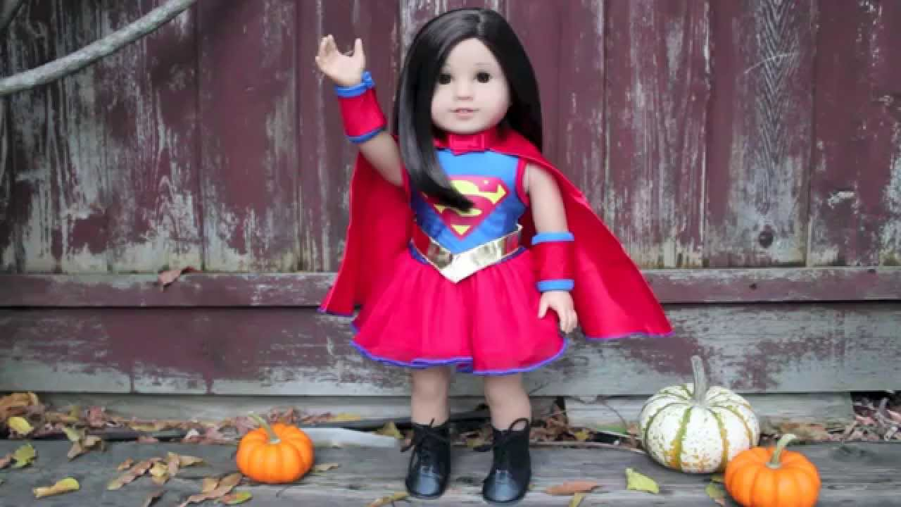 american girl doll halloween costumes 2014!!! - youtube