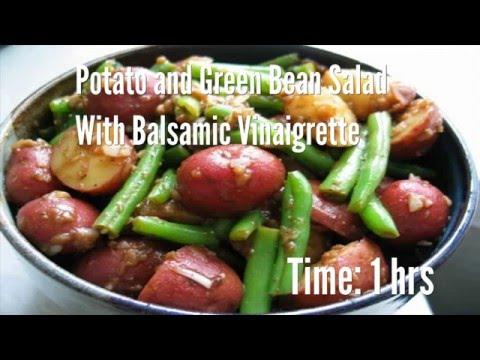 Potato and Green Bean Salad With Balsamic Vinaigrette Recipe