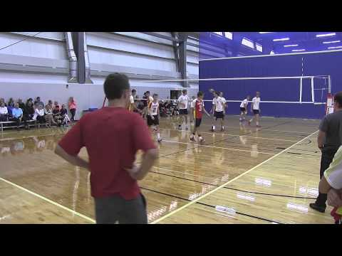 Strathcona Senior Boys Volleyball 2014: U of A Tournament