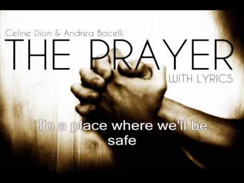 Celine Dion & Andrea Boceli   The Prayer (Lyrics)