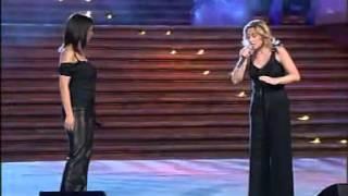 Lara Fabian & Laura Pausini La Solitudine Dolce Italia, 22.08.2002