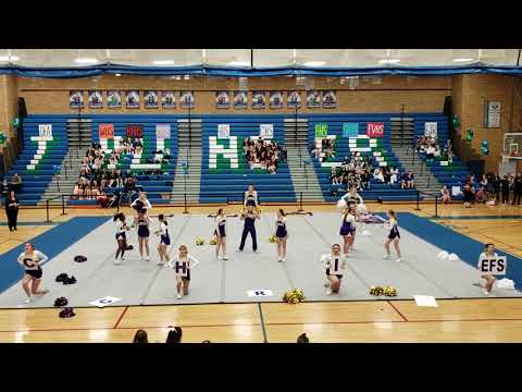 Columbia River High School Cheer District Competition January 5, 2019
