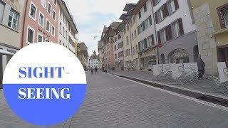 Sightseeing in Aarau in SWITZERLAND