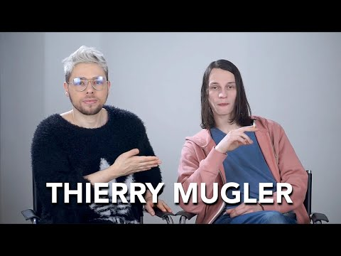 How to pronounce THIERRY MUGLER the right way