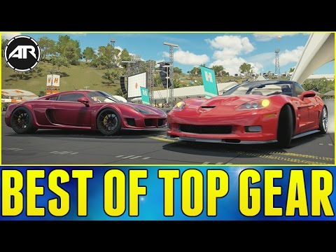 Forza Horizon 3 Online : BEST OF TOP GEAR CHALLENGE!!