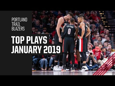 Portland Trail Blazers Top Plays of January 2019