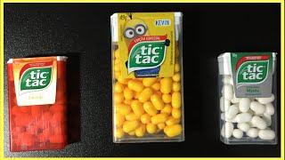 Tic Tac Minions Candy Hard Mints Flavour Orange Fresh Mint Passion Fruit