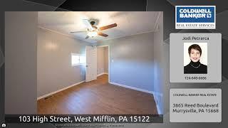 103 High Street, West Mifflin, PA 15122