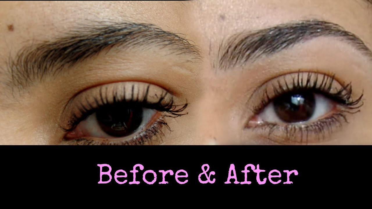 Easy Eyebrows How To Diy Plucking Youtube
