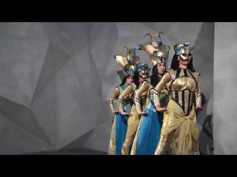 Египетский танец 'Тайны Богов' от танцевального шоу Колибри.