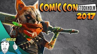 BIOMUTANT AT COMIC CON STOCKHOLM 2017