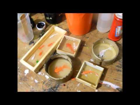Peces en 3d con resina youtube for Como hacer un lago para peces