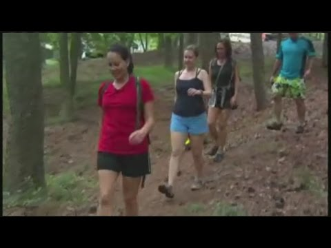 Outdoor fitness possibilities in the warm weather