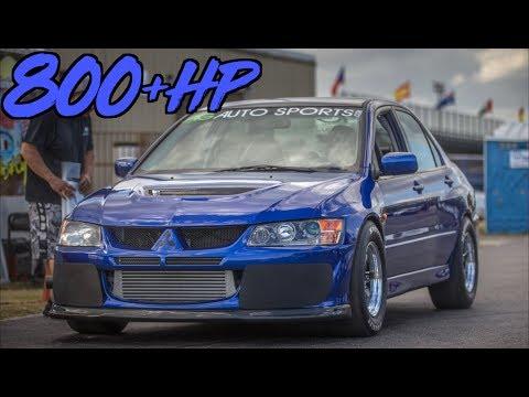 The Perfect Street Evo?! - 800HP Evo IX
