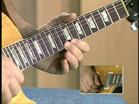E Mixolydian Guitar Lick using 5th and 6th Intervals.