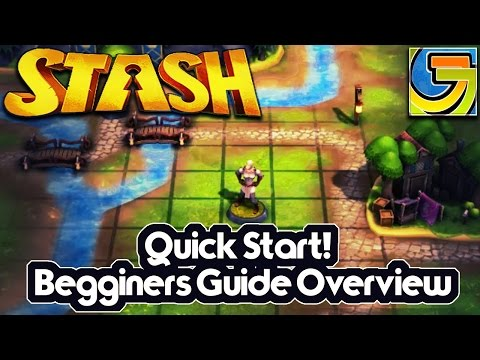 Stash Beginners Quick Start Guide and Game Overlook! | Common questions answered |