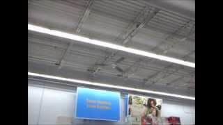 Ceiling fans at Wal Mart