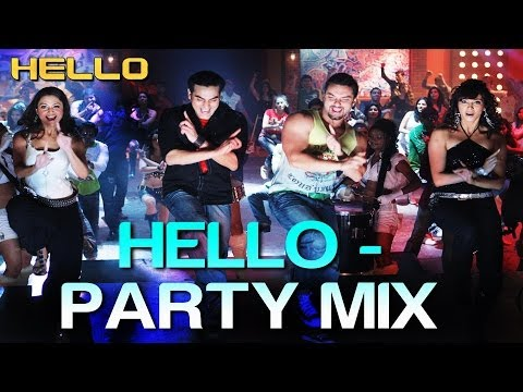 Hello Hello (Party Mix) - Hello | Salman Khan | Wajid Khan, Suzi Q, Ishq Bector & Others