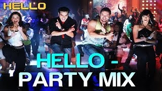 Hello Hello (Party Mix) - Hello | Salman Khan | Wajid Khan, Suzi Q, Ishq Bector & Others