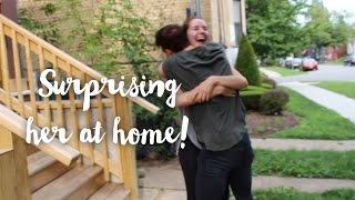 Surprising My Best Friend! (With Acтual footage)
