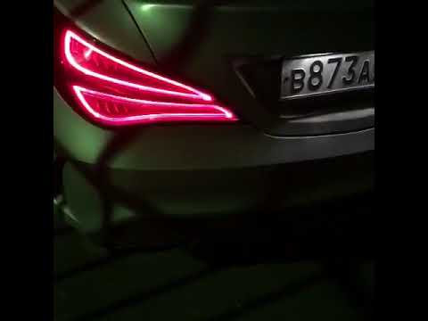 Custom exhaust CLA 45 AMG