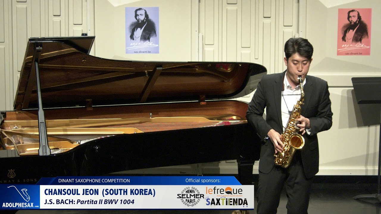 Chansoul Jeon (South Korea) - Partita II by J.S.Bach (Dinant 2019)