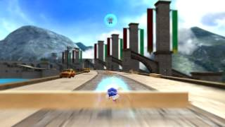 Sonic Generations- Silver/Egg Devil Ray Boss Fight