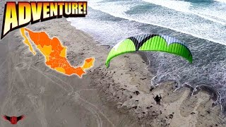 Powered Paragliding Adventures On The Beaches of Mexico With BlackHawk Paramotor Pilots!