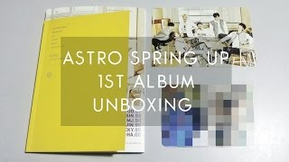 K-Unboxing;; ASTRO SPRING UP