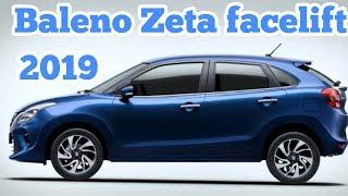 Maruti Suzuki Baleno Zeta 2019 Facelift real review interior and exterior features and price