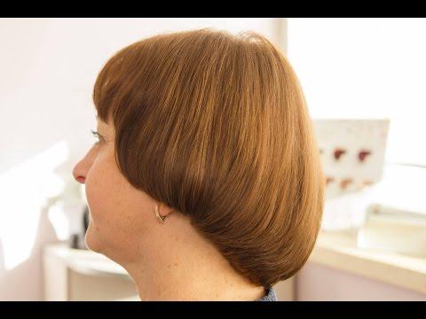 Стрижка сессон на вьющихся коротких волосах. Подробно.