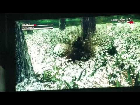 Mgs3 The Boss fight cqc only