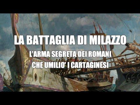 La battaglia di Milazzo. L'arma segreta dei romani umilia i Cartaginesi